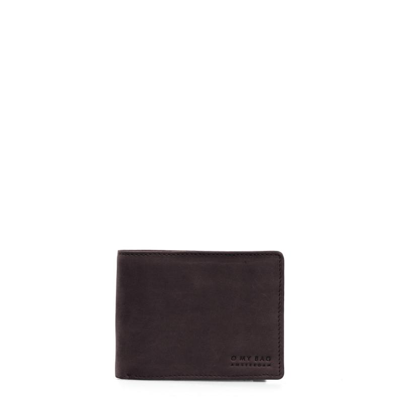 Tobi´s Wallet Dark Brown Hunter Leather - kožená peňaženka