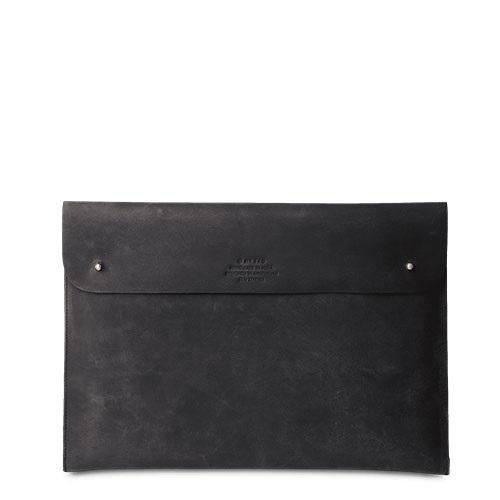 Laptop Sleeve 15´´ Black Hunter Leather - kožený obal na notebook