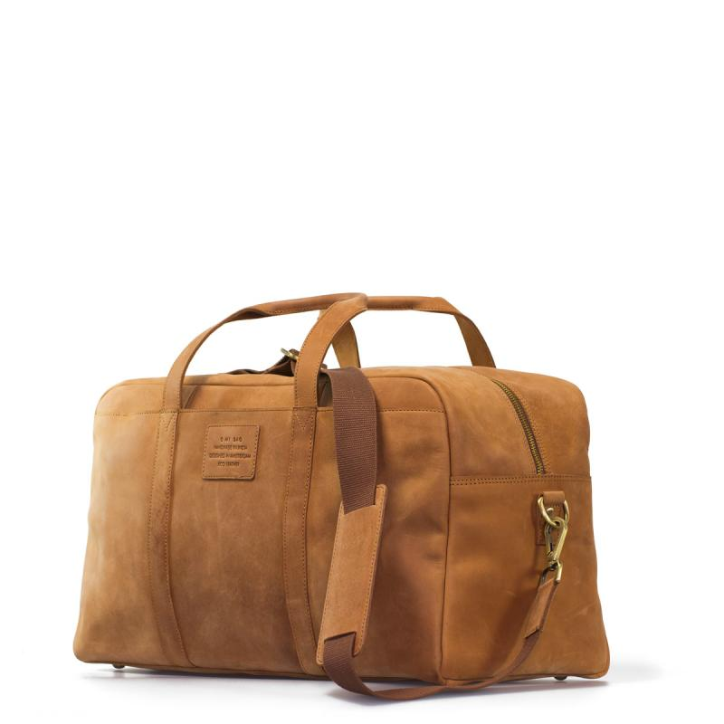 Otis Weekender Camel Hunter Leather - cestovná taška