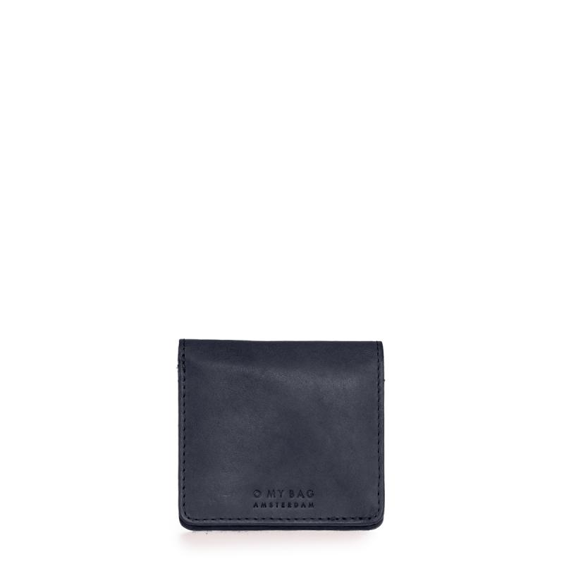 Alex Fold-Over Wallet Navy Classic Leather - kožená peňaženka