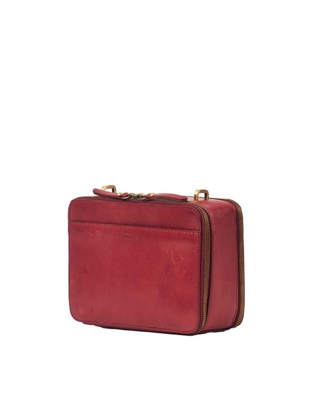 Bee´s Box Bag Ruby Classic Leather - kožená crossbody kabelka