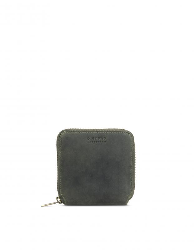 Sonny Square Wallet Green Hunter Leather - kožená peňaženka