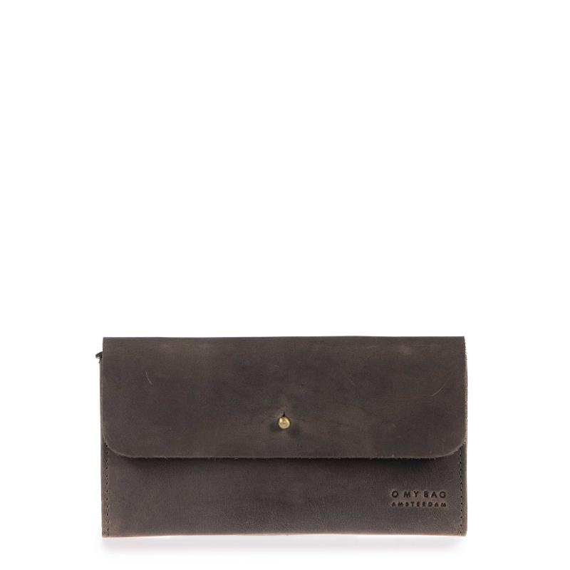 Pixie´s Pouch Dark Brown Hunter Leather - kožená peňaženka