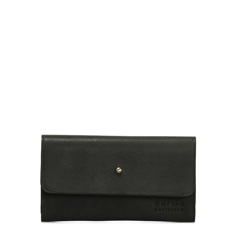 Pixie´s Pouch Black Soft Grain Leather - kožená peňaženka